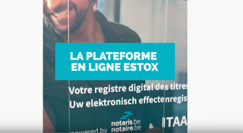 eStox : le registre électronique des actions